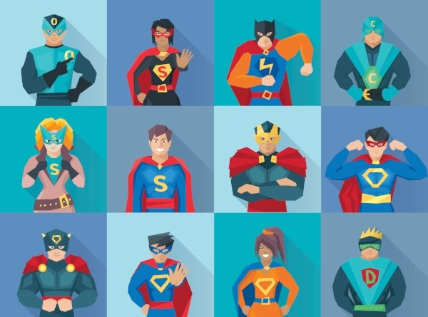 Superheroes in Personalized Learning!