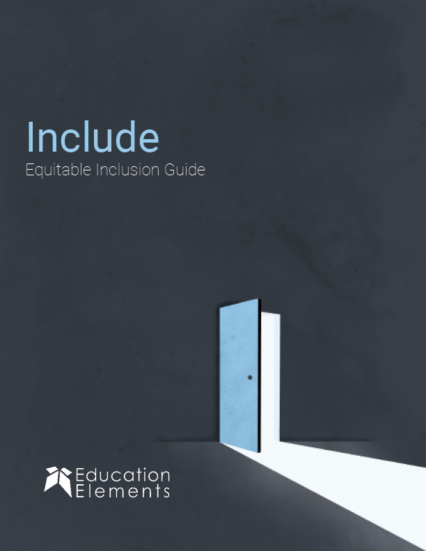 Include: Equitable Inclusion Guide Cover