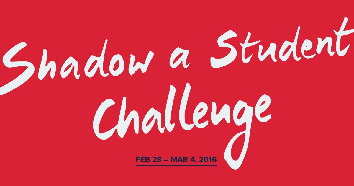 Sitting in their Seats: Reflections on the Shadow a Student Challenge